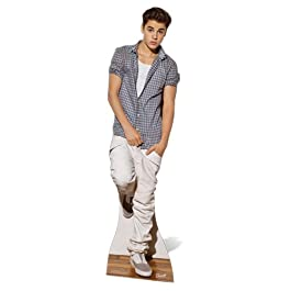 Justin Bieber - Lifesize Cut-Out Check Shirt (in 170 cm)