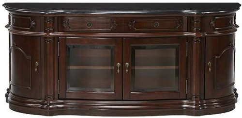 Image of Versailles Wide screen Tv Cabinet With Glass Doors (B009K3WSSK)