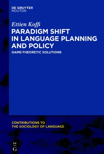 PARADIGM SHIFT IN LANGUAGE    CSL 101 (Contributions to the...