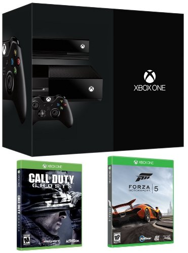 New xbox one day one edition bundle with an xbox one day one edition console call of duty ghosts - Xbox one day one edition console ...