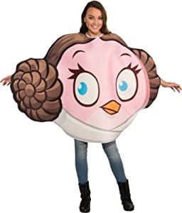 Angry Birds Star Wars Princess Leia Adult Costume, Multicolor, One Size