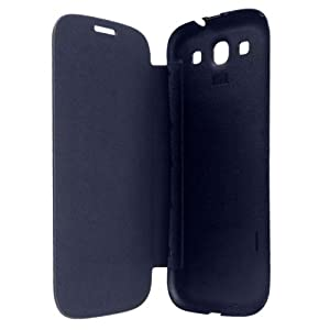 BLACK FLIP COVER OF MOBILE KARBONN TITANIUM S5 PLUS FREE SHIPPING available at Amazon for Rs.224