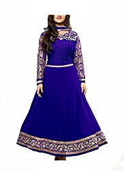 HK Trading Women's Unstitched Dress Material (MHARI46852972230_Blue_Free Size)