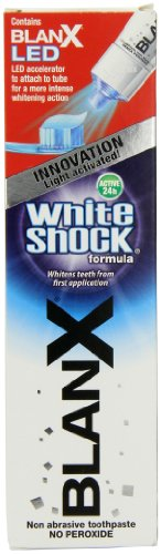 50ml White Shock Toothpaste Plus Led Accelerator 9284 By Blanx