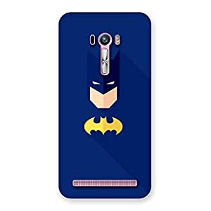 Gorgeous Blue At Yellow Back Case Cover for Zenfone Selfie