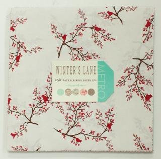 Moda - Winter's Lane - Layer Cake (13090LC) by Kate and Birdie Paper Co.