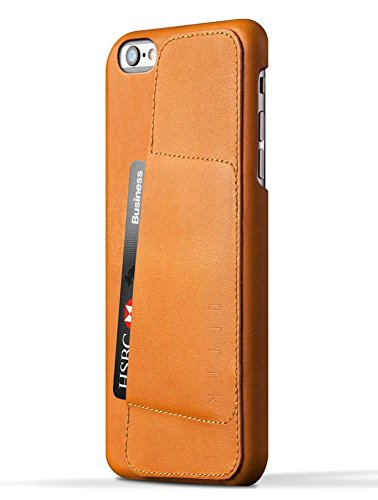 Leather Wallet Case 80° for iPhone 6 Plus - Tan