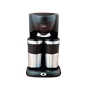 Cuisinart Coffee Maker Travel Mug : Amazon.com: Melitta ME2TMB Take 2 Stainless Steel Travel Mug Coffeemaker: Drip Coffeemakers ...