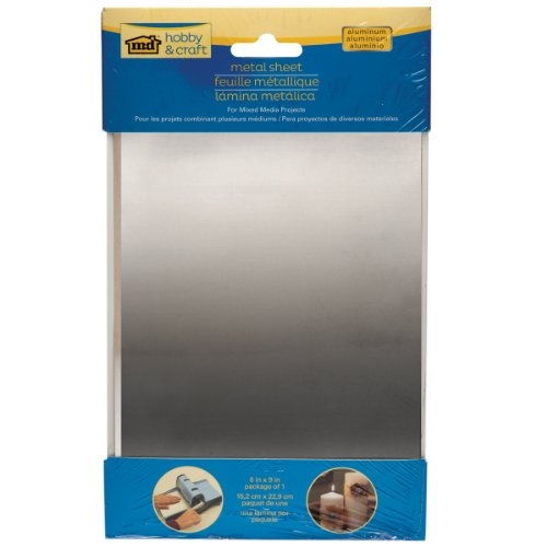 M-D Hobby & Craft Aluminum Sheet, 6 x 9-Inch (Thin Metal Sheet compare prices)
