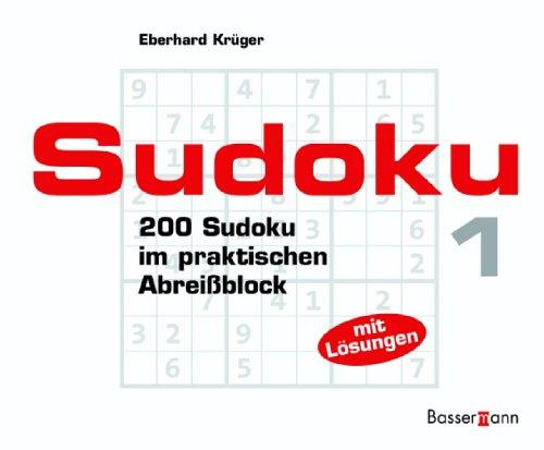 Sudoku Block 1. 200 Sudoku im praktischen Abreißblock