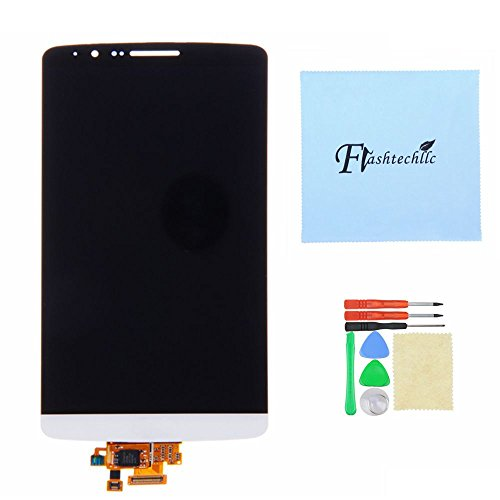 Lcd Display Touch Screen Digitizer Assembly For Lg G3 D850 D851 D855 Vs985 Ls990 White Or Gold (White)