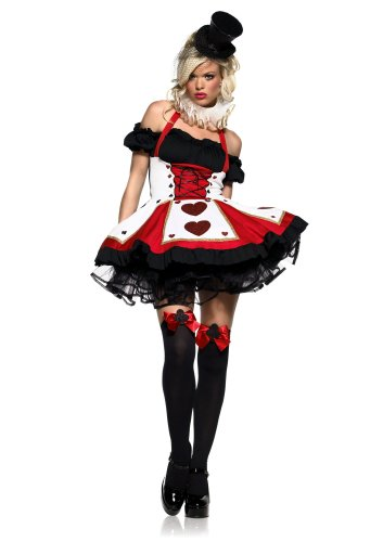 La83409 (1X-2X) Pretty Playing Card Costume