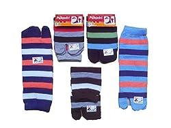 Mikado cotton ankel thumb socks for women - 5 Pair pack
