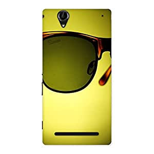 Ajay Enterprises Wo Eye Glass Back Case Cover for Sony Xperia T2