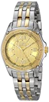 Invicta Womens 16322 8220ANGEL Diamond-Accented Two-Tone