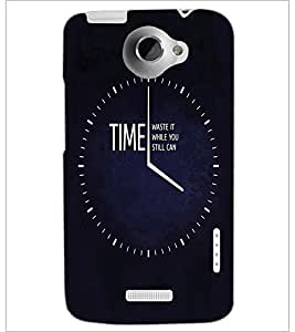 PrintDhaba Quote D-3356 Back Case Cover for HTC ONE X (Multi-Coloured)