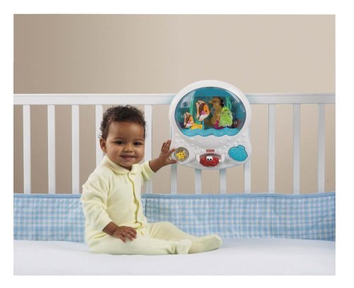Ocean Wonders Musical Aquarium Crib Attachment