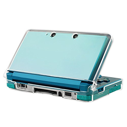 Insten Snap-on Crystal Case Compatible With Nintendo 3DS, Clear (3ds Pokemon Omega Red compare prices)