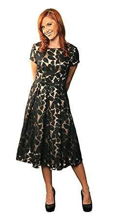 """Mikarose Women's """"Renee"""" Modest Dress: Amazon Fashion"""