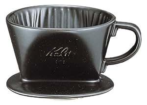 Earthenware Coffee Dripper (Kalita) Black
