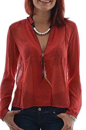LOLA ESPELETA - Camicia -  donna rosso L
