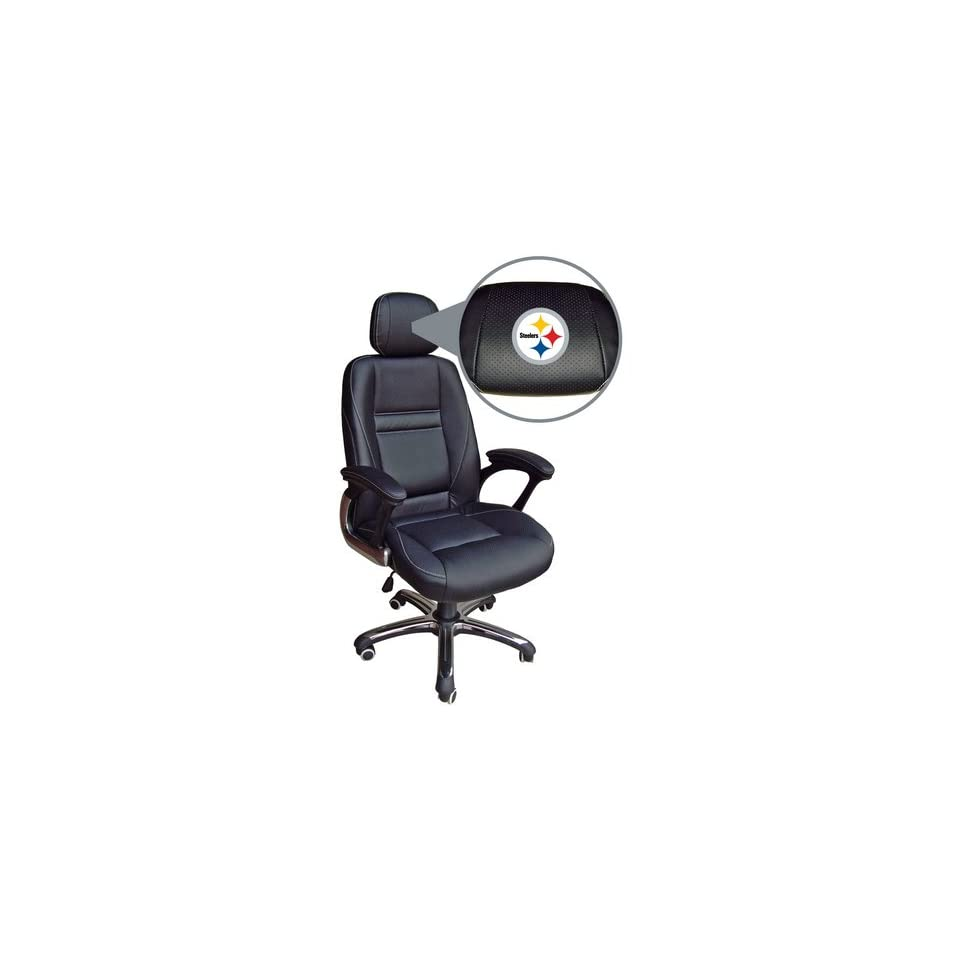 Awe Inspiring Pittsburgh Steelers Head Coach Office Chair Sports On Popscreen Uwap Interior Chair Design Uwaporg