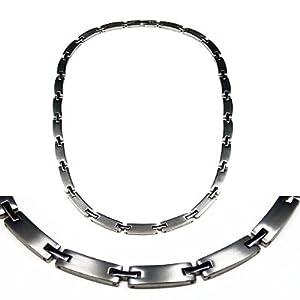 Men's Magnetic Power Titanium Golf Necklace T2 20