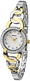 Sekonda Women's Quartz Watch with Mof Pearl Dial Analogue Display and Two Tone Bracelet 2130.71