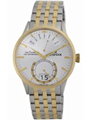 Edox Men's 34002 357 AID Les Vauberts Date Watch