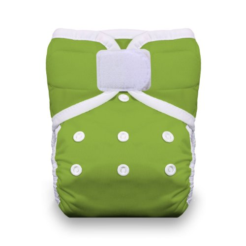Thirsties One Size Hook And Loop Pocket Diaper, Meadow front-277839