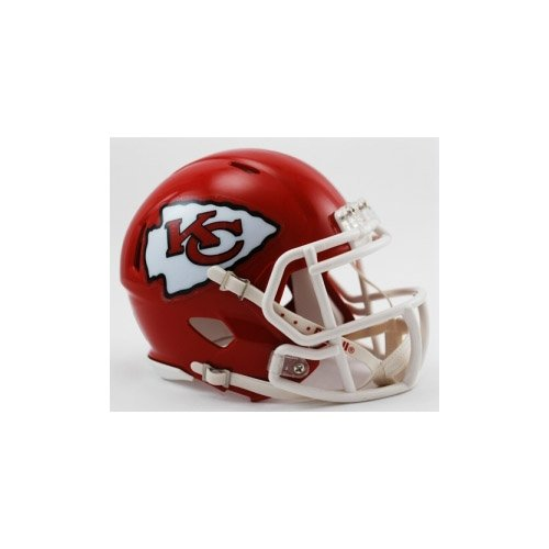 NFL Riddell Kansas City Chiefs Mini Speed Helmet - Red