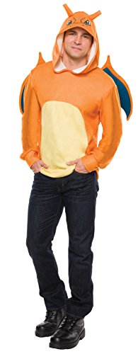 Rubie's Costume Co Men's Pokemon Charizard Hoodie,