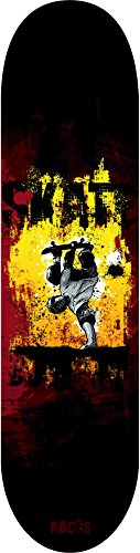 Roces-Trick-Tavola da skateboard, colore: multicolore