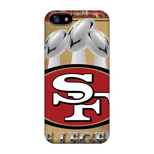 Hot San Francisco 49Ers First Grade Tpu Phone Case For Iphone 5/5S Case Cover