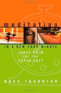 Cover of &quot;Meditation in a New York Minute...