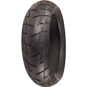 Shinko 009 Raven Radial Tire - Rear - 180/55ZR17 , Position