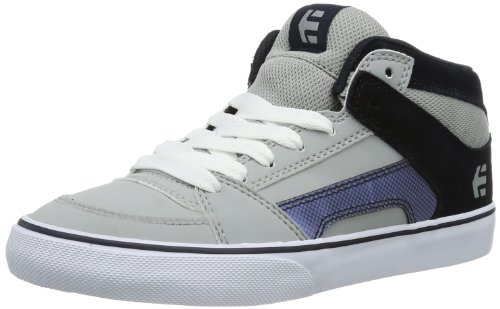 Etnies Unisex-Child K Rvm Vulc Trainers 4301000083 Navy/Grey 2 UK, 35 EU, 3 US