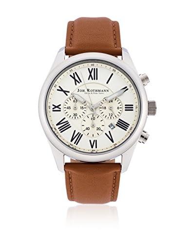 Joh. Rothmann Reloj de cuarzo 10030026 Cognac 42.5 mm