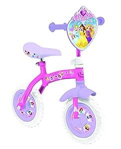 Disney Princess 10-Inch 2-in-1 Training Bike