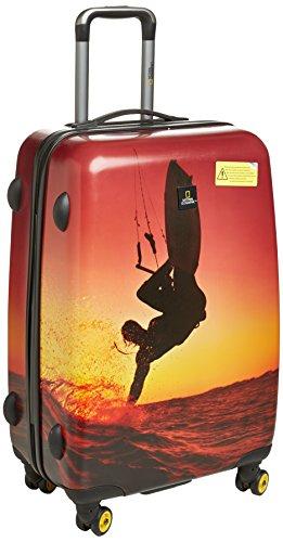 National Geographic Adventure of Life Skysurf valigia a 4 ruote 66 cm skysurf