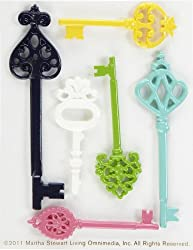 Martha Stewart Crafts Modern Damask Key Embellishments