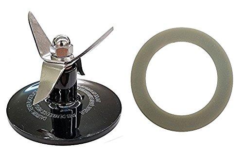 Blender Blade Assembly for Cuisinart CBT-500, SB5600, CB600, Black + Gasket (Cuisinart Cbt500 compare prices)