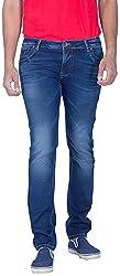 INTEGRITI Men'S Slim Fit Jeans (Rellik-301.Str Skft Dex_36, Blue, 36)