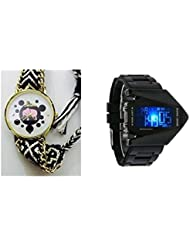 2016 New Fashion Watches Luxury Watch Women Girls Men- The Black Collection