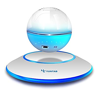 YUNTAB SC-25 Levitation Portable Wireless Bluetooth Speaker LED Floating Levitation Speaker for Android Iphone Ipad