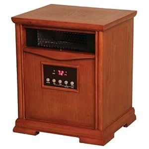 LifeSmart LS1500-6 1500 Watt Infrared Quartz Heater