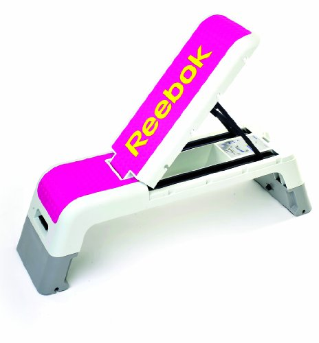 cardio training steps reebok step banc de muscu magenta. Black Bedroom Furniture Sets. Home Design Ideas
