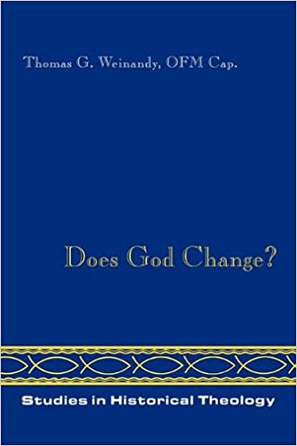 Does God Change? (Studies in Historical Theology)