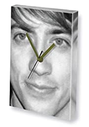 KEVIN McHALE - Canvas Clock (LARGE A3 - Signed by the Artist) #js001
