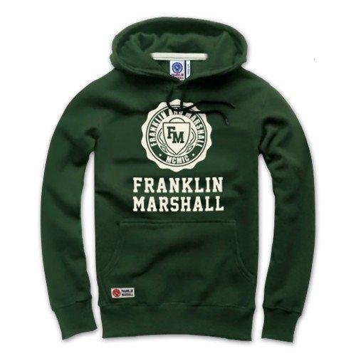 【フランクリンマーシャル】FRANKLIN&MARSHALL メンズ アメカジ トレーナー パーカー FHP102-Khaki Mサイズ